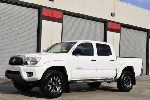 2012 Toyota Tacoma for sale at Vision Motors, Inc. in Winter Garden FL