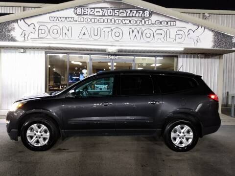 2014 Chevrolet Traverse for sale at Don Auto World in Houston TX