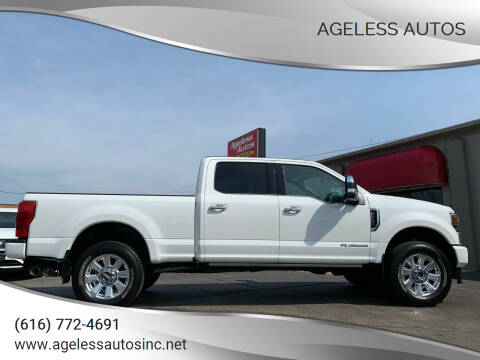 2020 Ford F-250 Super Duty for sale at Ageless Autos in Zeeland MI