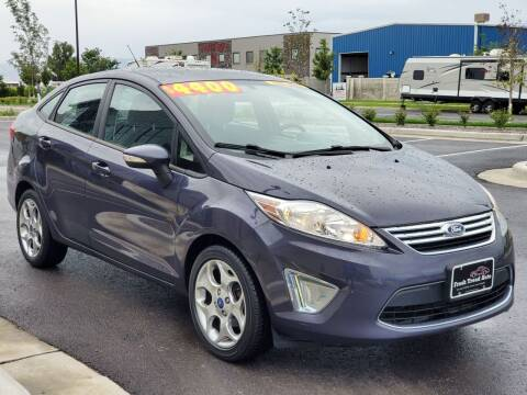 2012 Ford Fiesta for sale at FRESH TREAD AUTO LLC in Springville UT