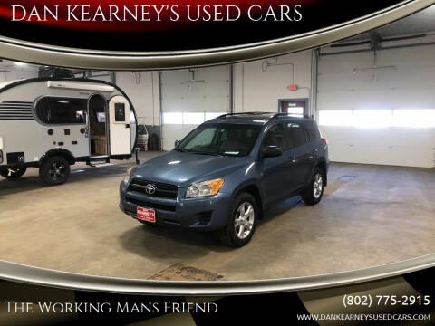 2012 Toyota RAV4 for sale at DAN KEARNEY'S USED CARS in Center Rutland VT