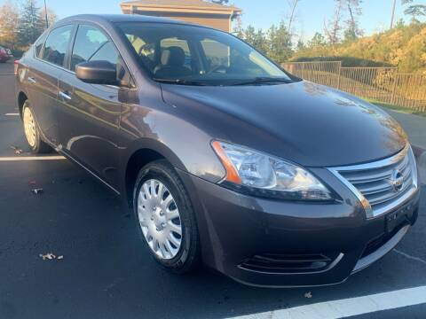 2014 Nissan Sentra for sale at LA 12 Motors in Durham NC
