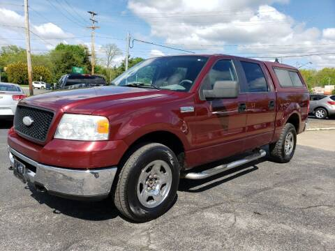 2006 Ford F-150 for sale at COLONIAL AUTO SALES in North Lima OH