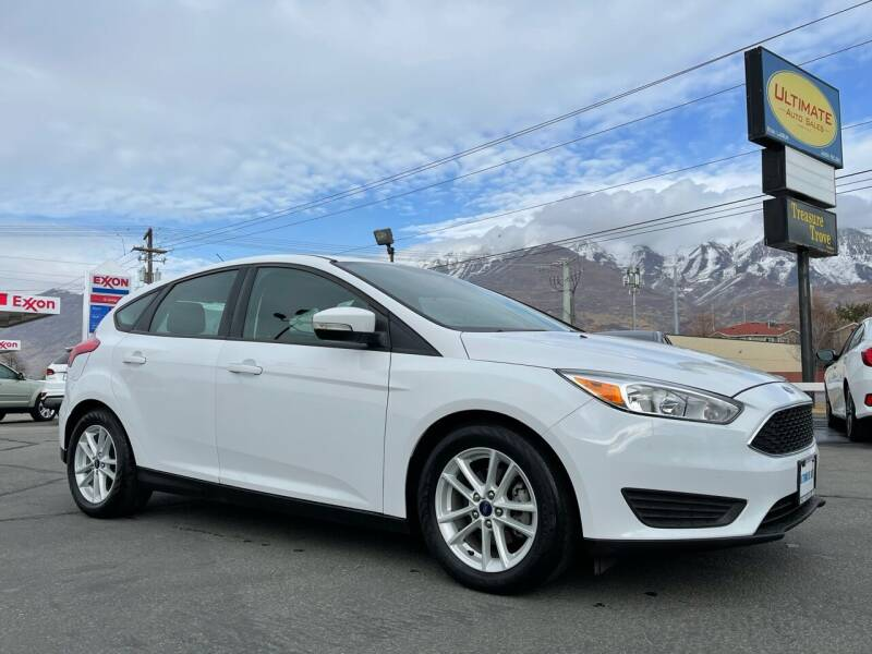 2017 Ford Focus for sale at Ultimate Auto Sales Of Orem in Orem UT