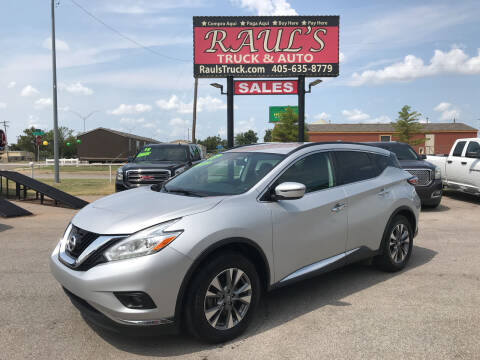 2017 Nissan Murano for sale at RAUL'S TRUCK & AUTO SALES, INC in Oklahoma City OK