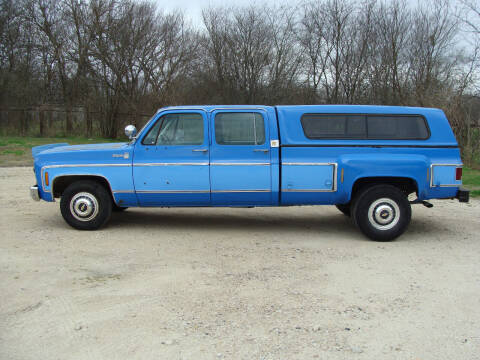 1978 Chevrolet C/K 30 Series for sale at Texas Truck Deals in Corsicana TX