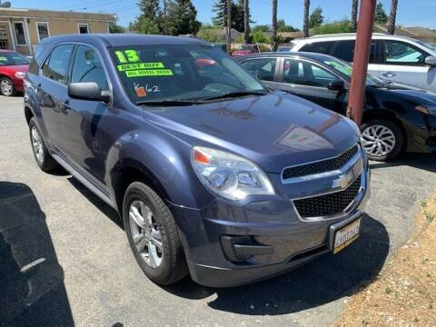 2013 Chevrolet Equinox for sale at Contra Costa Auto Sales in Oakley CA
