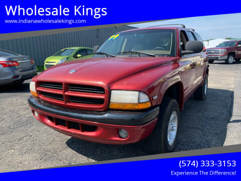 1999 Dodge Durango for sale at Wholesale Kings in Elkhart IN