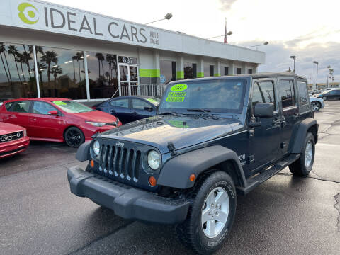 2008 Jeep Wrangler Unlimited for sale at Ideal Cars East Main in Mesa AZ