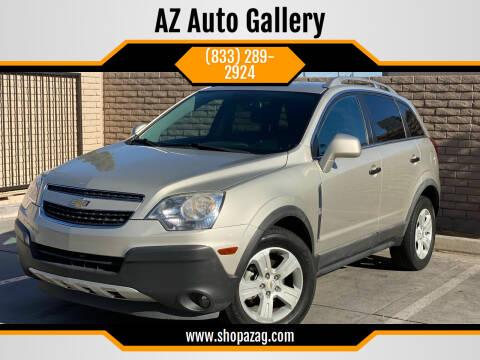 2014 Chevrolet Captiva Sport for sale at AZ Auto Gallery in Mesa AZ
