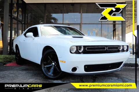 2019 Dodge Challenger for sale at Premium Cars of Miami in Miami FL