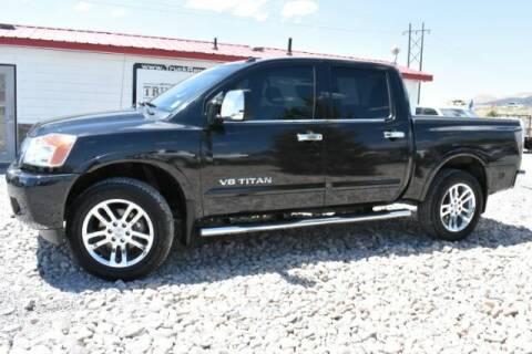 2015 Nissan Titan for sale at Truck Ranch in Logan UT