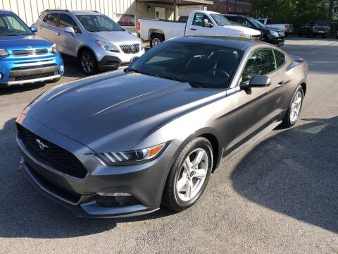 2015 Ford Mustang for sale at Stikeleather Auto Sales in Taylorsville NC