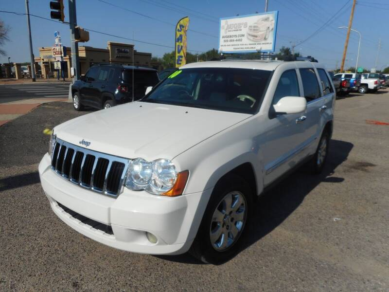 2010 Jeep Grand Cherokee for sale at AUGE'S SALES AND SERVICE in Belen NM