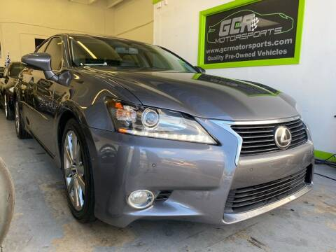 2014 Lexus GS 350 for sale at GCR MOTORSPORTS in Hollywood FL