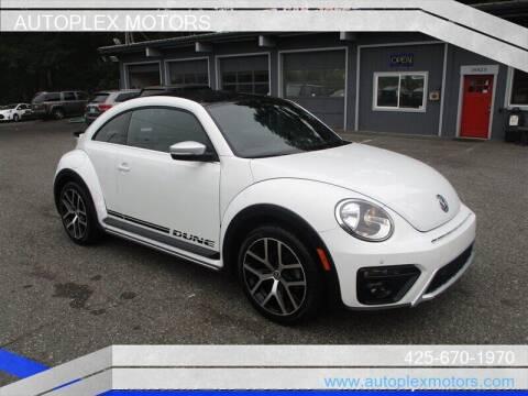 2016 Volkswagen Beetle for sale at Autoplex Motors in Lynnwood WA