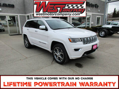 2021 Jeep Grand Cherokee for sale at West Motor Company in Preston ID