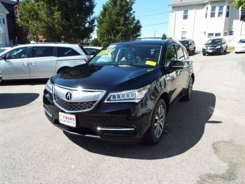 2015 Acura MDX for sale at FRIAS AUTO SALES LLC in Lawrence MA