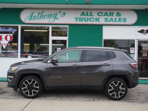 2019 Jeep Compass for sale at Anthony's All Cars & Truck Sales in Dearborn Heights MI