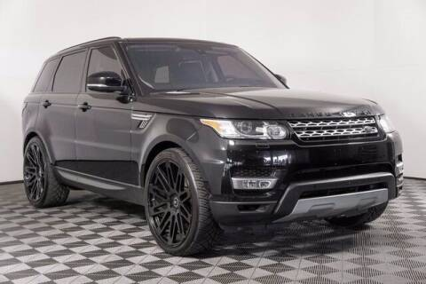 2016 Land Rover Range Rover Sport for sale at Chevrolet Buick GMC of Puyallup in Puyallup WA