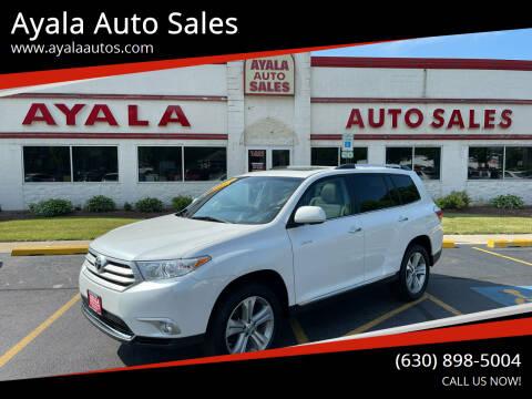 2013 Toyota Highlander for sale at Ayala Auto Sales in Aurora IL
