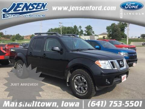 2017 Nissan Frontier for sale at JENSEN FORD LINCOLN MERCURY in Marshalltown IA