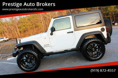 2014 Jeep Wrangler for sale at Prestige Auto Brokers in Raleigh NC