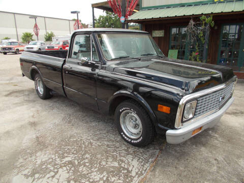 1971 Chevrolet C/K 10 Series for sale at MOTION TREND AUTO SALES in Tomball TX