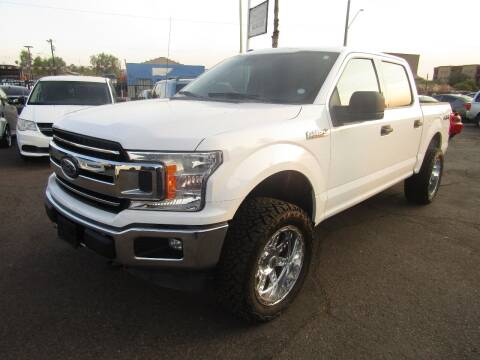 2018 Ford F-150 for sale at More Info Skyline Auto Sales in Phoenix AZ