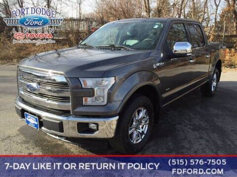 2017 Ford F-150 for sale at Fort Dodge Ford Lincoln Toyota in Fort Dodge IA