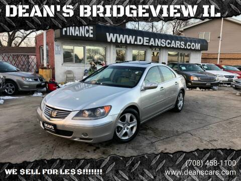 2006 Acura RL for sale at DEANSCARS.COM in Bridgeview IL