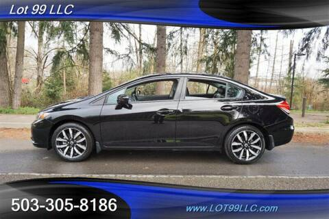 2014 Honda Civic for sale at LOT 99 LLC in Milwaukie OR