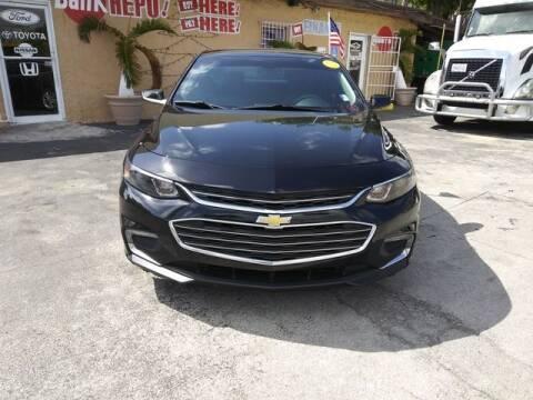 2016 Chevrolet Malibu for sale at VALDO AUTO SALES in Miami FL