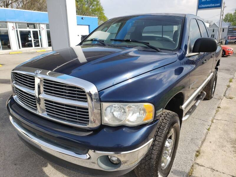 2003 Dodge Ram Pickup 2500 for sale at Lincoln County Automotive in Fayetteville TN