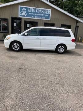 2008 Honda Odyssey for sale at Auto Consider Inc. in Grand Rapids MI