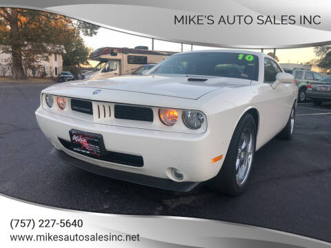 2010 Dodge Challenger for sale at Mike's Auto Sales INC in Chesapeake VA