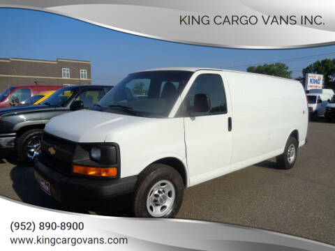 2013 Chevrolet Express Cargo for sale at King Cargo Vans Inc. in Savage MN