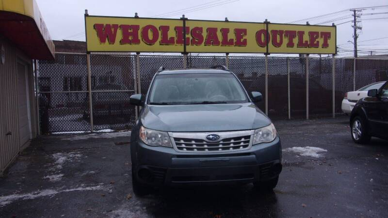 2011 Subaru Forester for sale at LONG BROTHERS CAR COMPANY in Cleveland OH