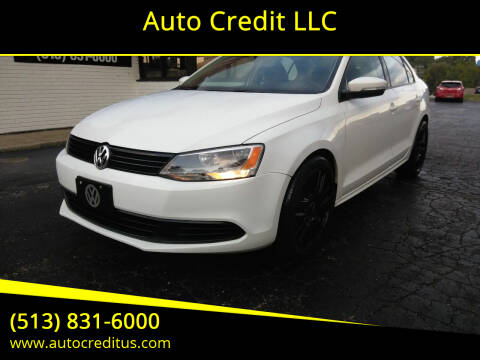 2012 Volkswagen Jetta for sale at Auto Credit LLC in Milford OH