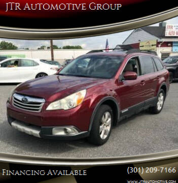 2011 Subaru Outback for sale at JTR Automotive Group in Cottage City MD