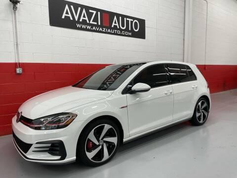 2019 Volkswagen Golf GTI for sale at AVAZI AUTO GROUP LLC in Gaithersburg MD