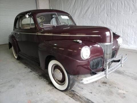 1941 Ford Model 11A for sale at Vintage Car Collector in Glendale CA