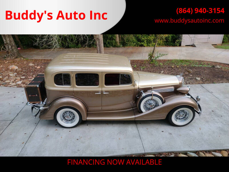 1934 Pontiac 193 for sale at Buddy's Auto Inc in Pendleton, SC