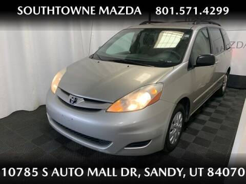 2008 Toyota Sienna for sale at Southtowne Mazda of Sandy in Sandy UT
