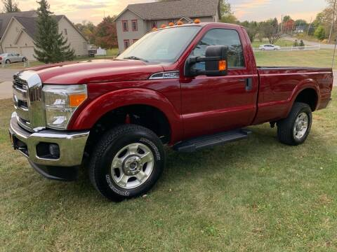 2016 Ford F-250 Super Duty for sale at Clarks Auto Sales in Connersville IN