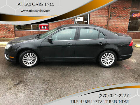 2010 Ford Fusion for sale at Atlas Cars Inc. in Radcliff KY