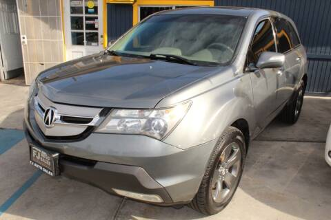 2008 Acura MDX for sale at FJ Auto Sales in North Hollywood CA