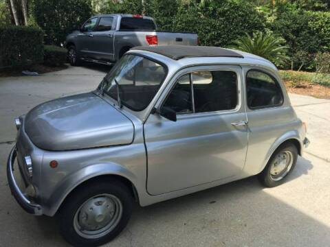 1975 FIAT 500 for sale at Classic Car Deals in Cadillac MI