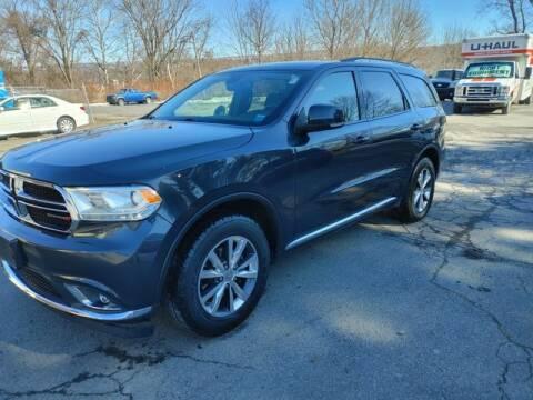 2016 Dodge Durango for sale at CASTLE AUTO AUCTION INC. in Scranton PA