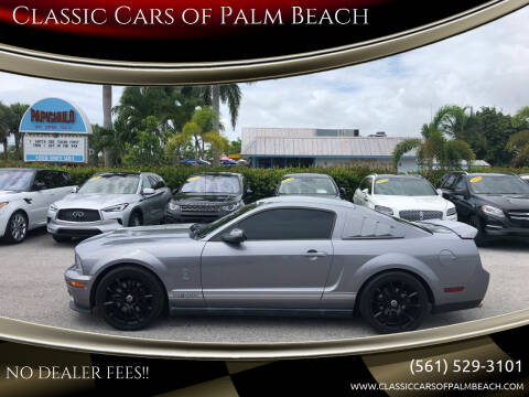 2007 Ford Shelby GT500 for sale at Classic Cars of Palm Beach in Jupiter FL